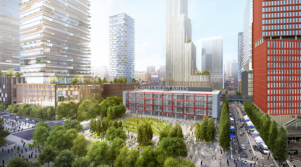 The Schuylkill Yards are a multi-acre redevelopment located in West Philadelphia