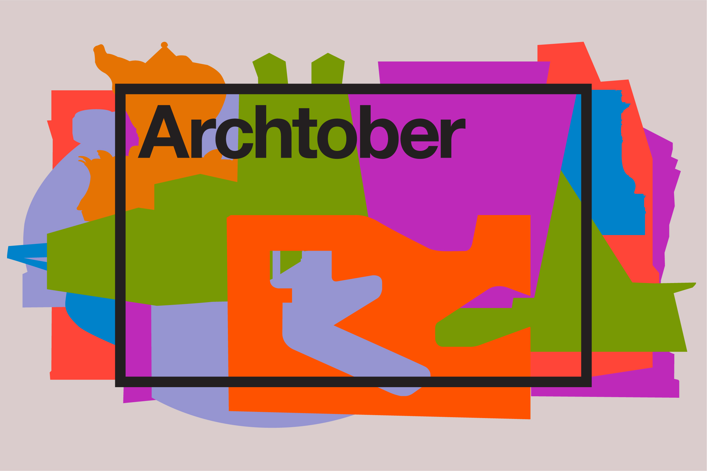 A sign that says Archtober