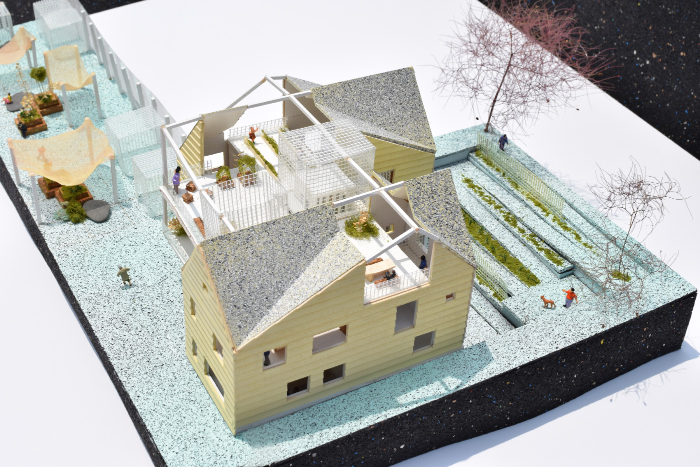 Model of SIDE by SIDE, the winning design for Zero Threshold by BRANDT: HAFERD