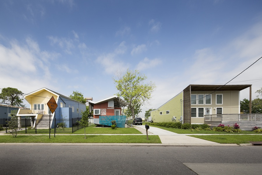 Affordable homes in New Orleans built by Make it Right