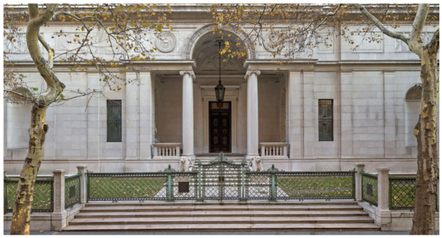 The Morgan Library, viewed from 36th street