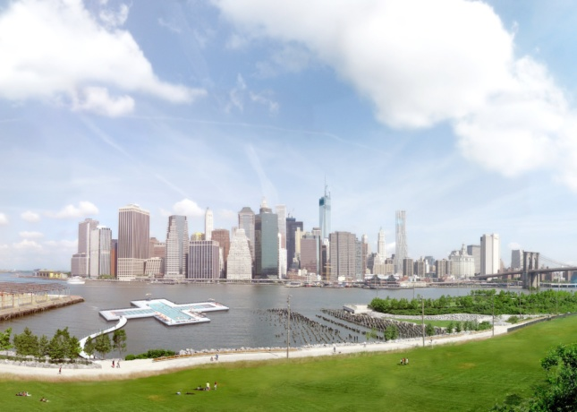 Rendering of the +Pool proposal