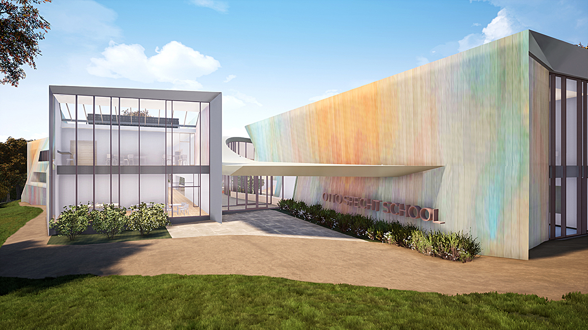 Rendering of the Otto Specht School