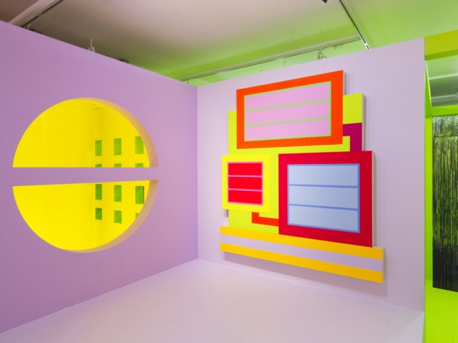A polychromatic exhibition with a painting in Greene Naftali gallery as part of Heterotopia II