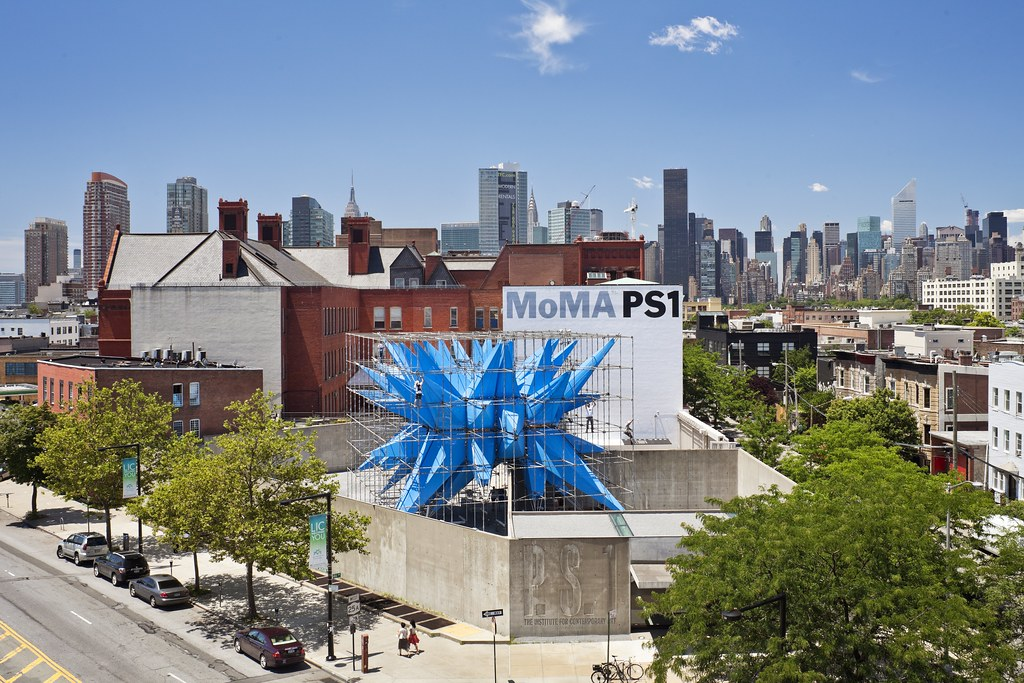 The MoMA PS1 courtyard