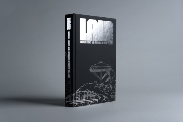 A book cover that says Lair on it