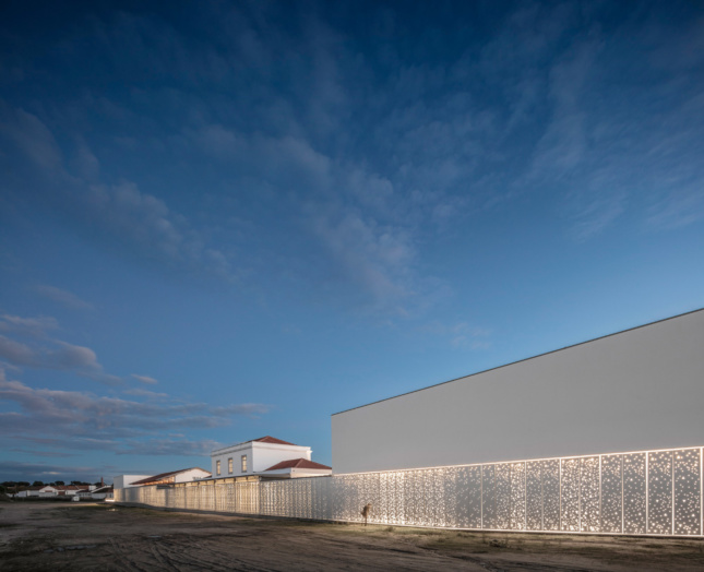 Exterior photo of a museum designed by the new Lisbon Architecture Triennale curators