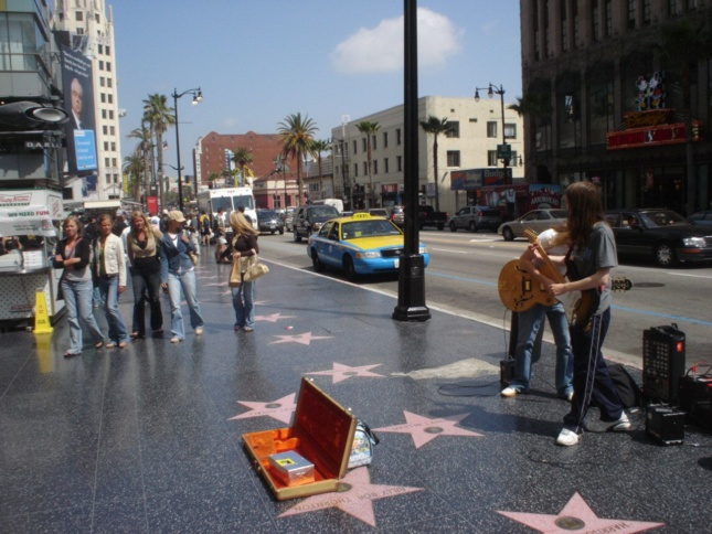 Performers on the Hollywood Walk of Fame