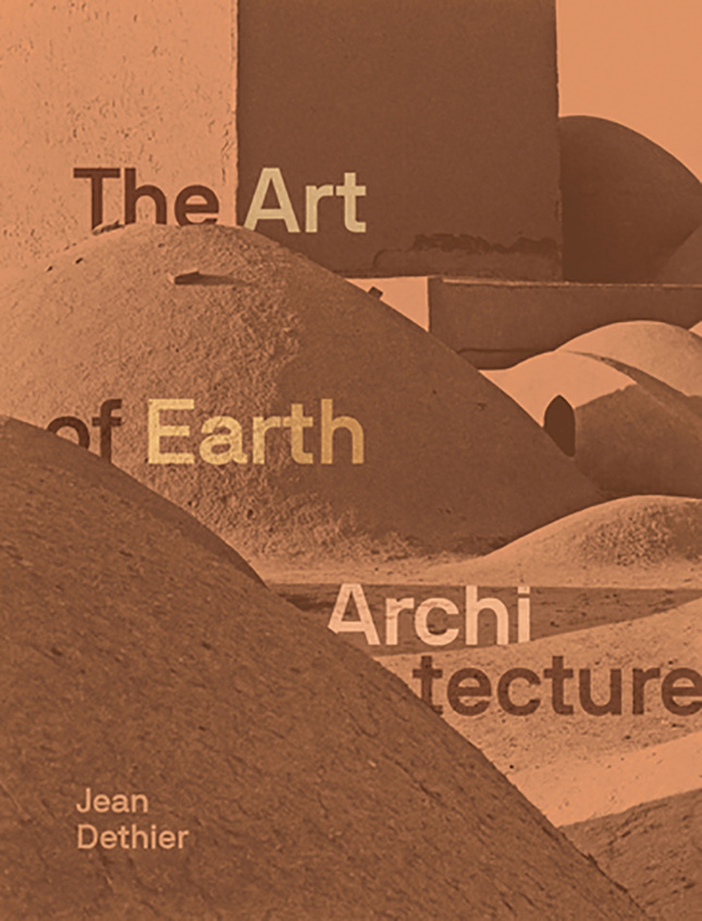 sepia cover of Art of Earth Architecture book