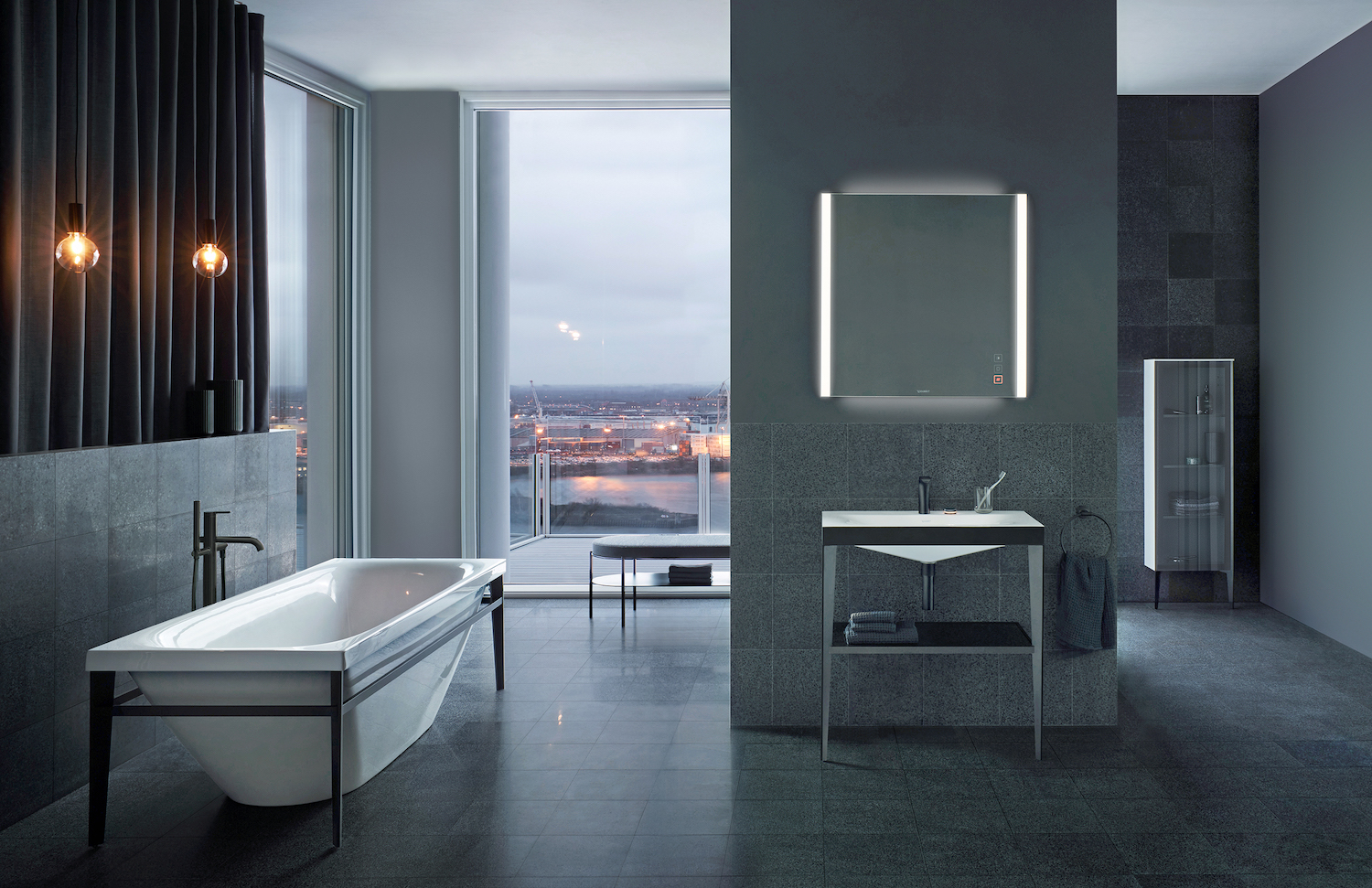 Connected technologies bring luxurious features to the bathroom.