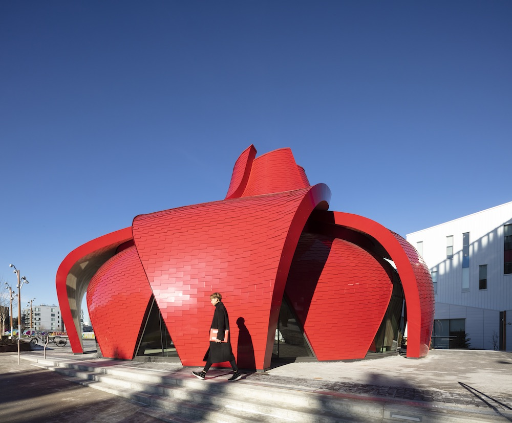 Exterior image of the Great Northern Way Pavilion