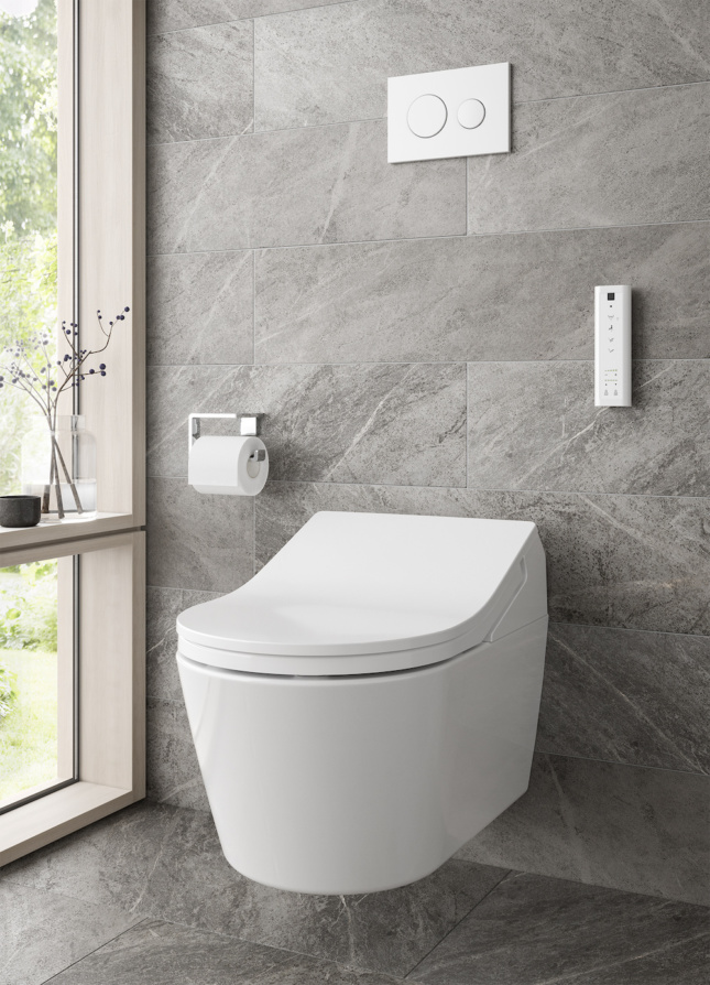 RP WASHLET+ RX Wall-Hung Toilet TOTO