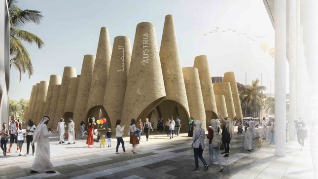 For Expo 2020, Austria will present these earthen cones