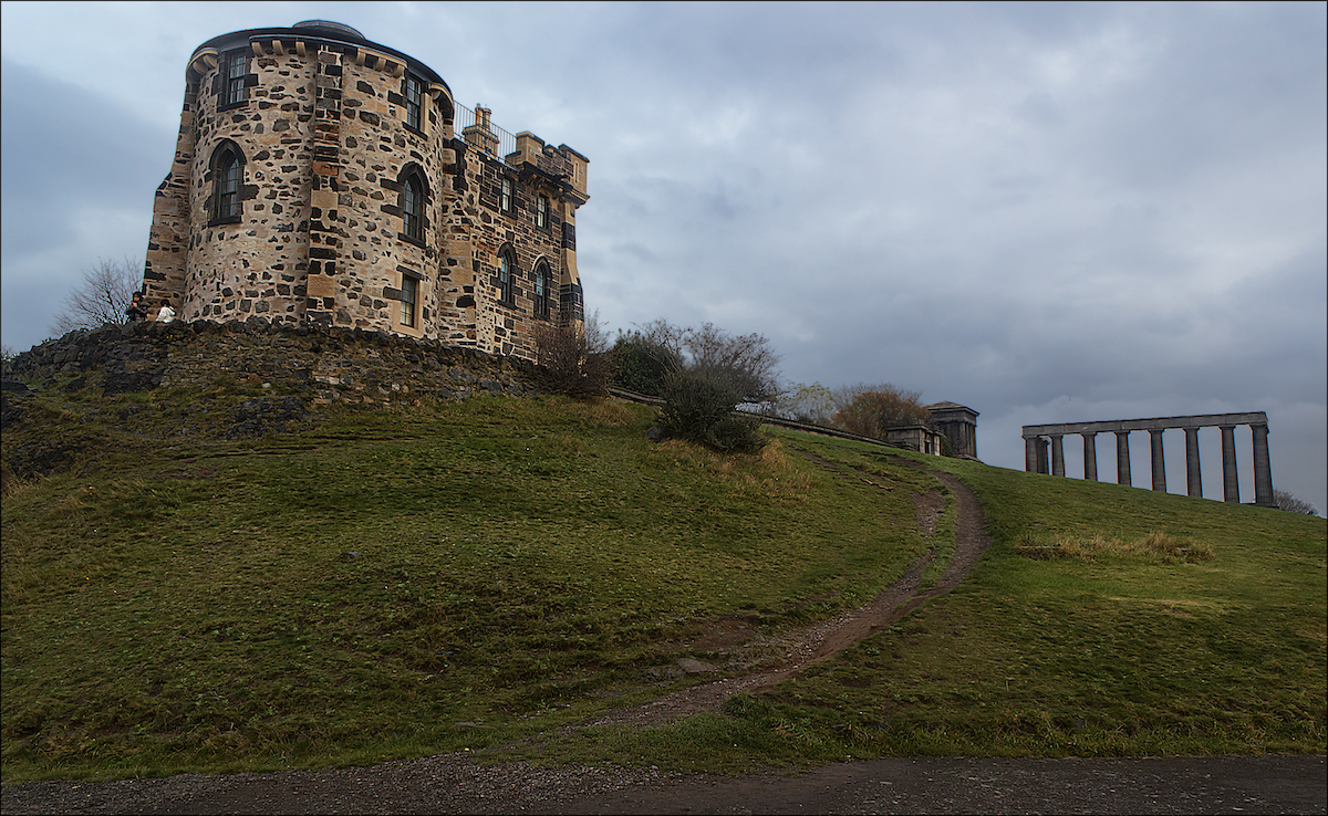 a historic observatory on a hill in Scotland, one of the projects highlighted in the new Google initiative