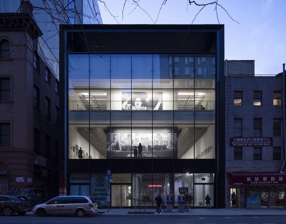Image of the International Center of Photography by Gensler and its glazed facade