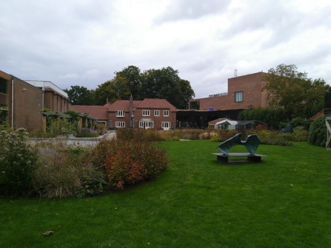 A museum garden in the netherlands