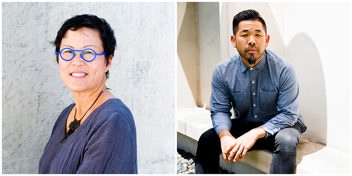 Portraits of Doris Sung (left) and Alvin Huang (right), the newest leaders at USC