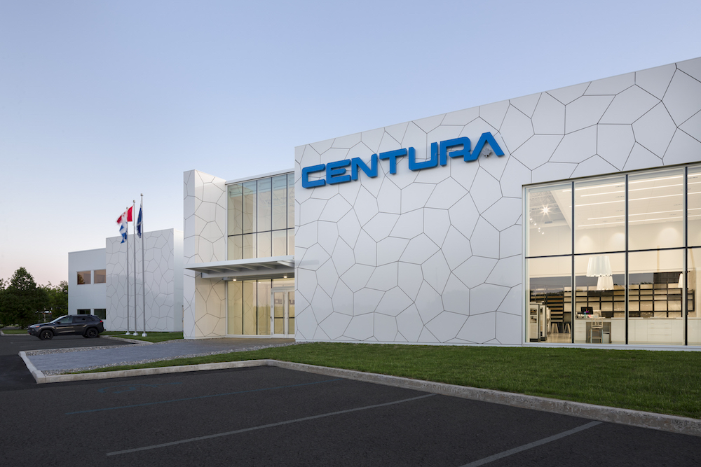 Exterior image of Centura Quebec and tile facade
