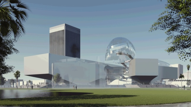 an alternative design proposal for the Los Angeles County Museum of Art