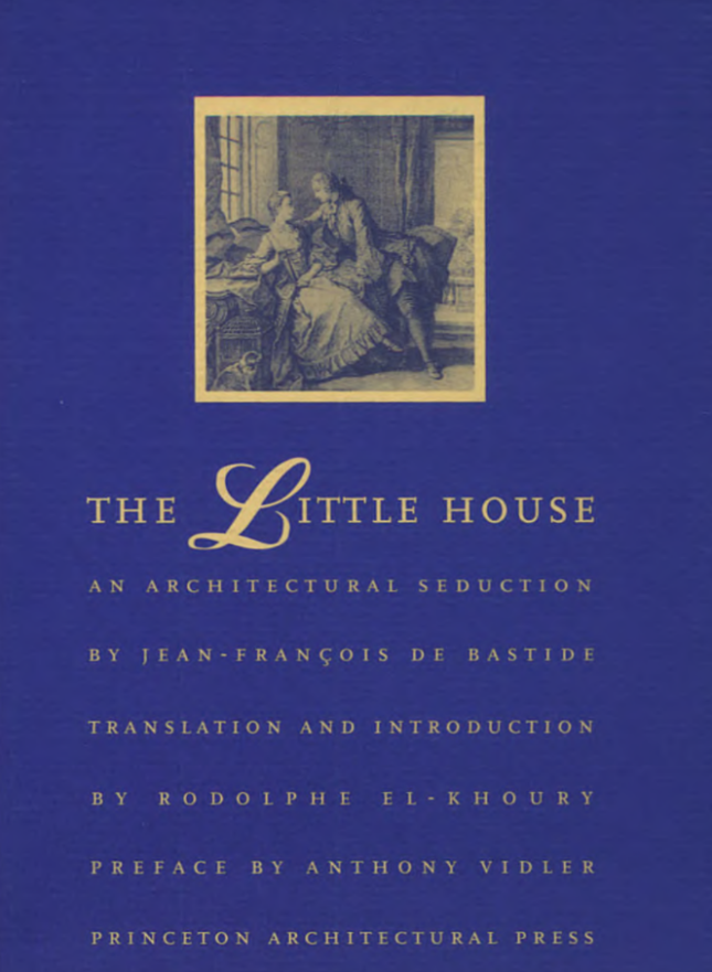 """Cover of a blue book with """"the little house"""" on the front"""