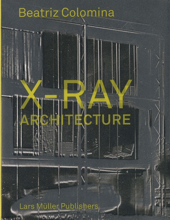 """Grey book cover with """"X-ray architecture on it"""""""