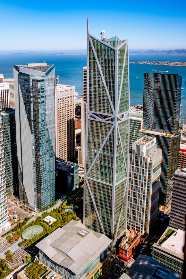 Image of 181 Fremont within the context of San Francisco's Financial District.