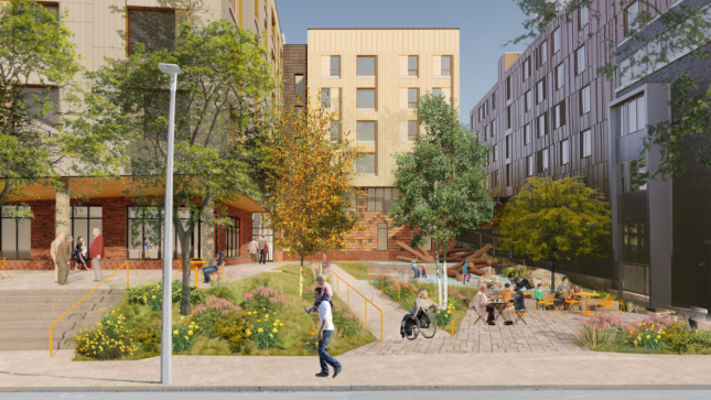 A MASS Design Group-designed affordable housing complex