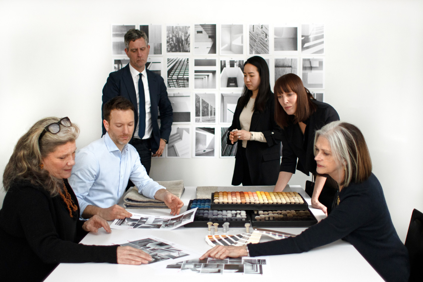 Deborah Berke Partners at work on their Warp & Weft collection