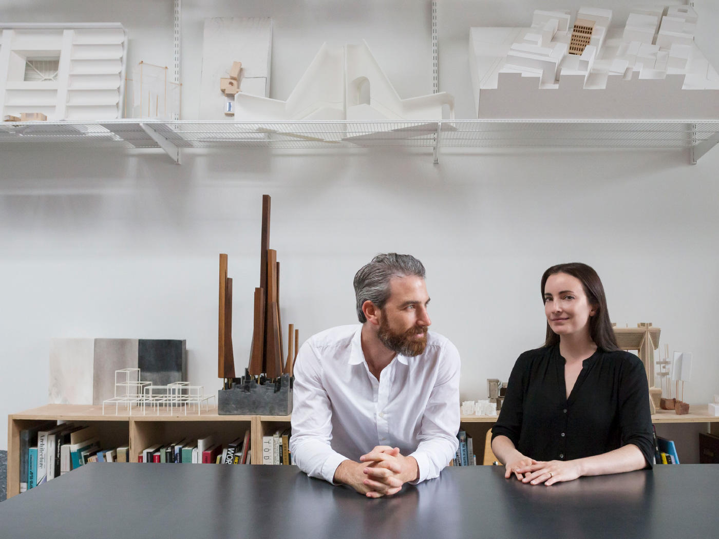 Nathan Rich and Miriam Peterson of Peterson Rich Office