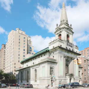 A turn-of-the-century church in manhattan, slated to become the new Children's Museum