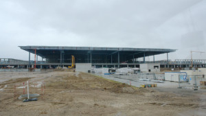 airport terminal in berlin under construction