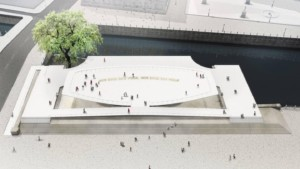 illustration of a planned monument in Berlin