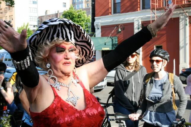 Darcelle, an 89-year-old Portland drag queen.
