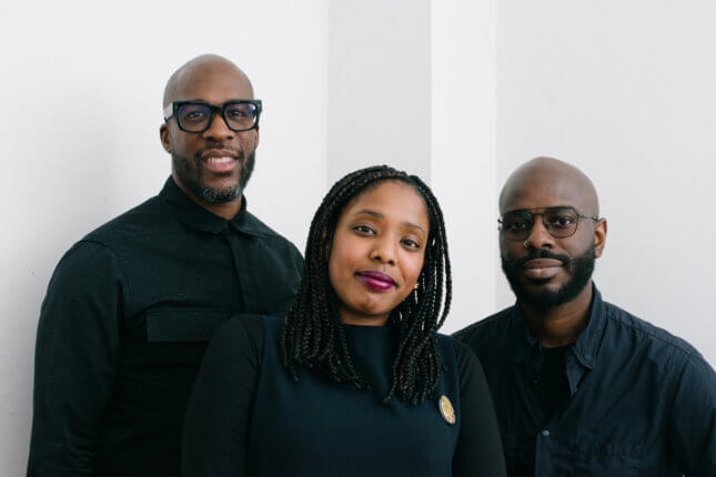 Photo of Deem founders Nu Goteh, Alice Grandoit, and Marquise Stillwell