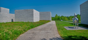 a view of the Glenstone museum in maryland