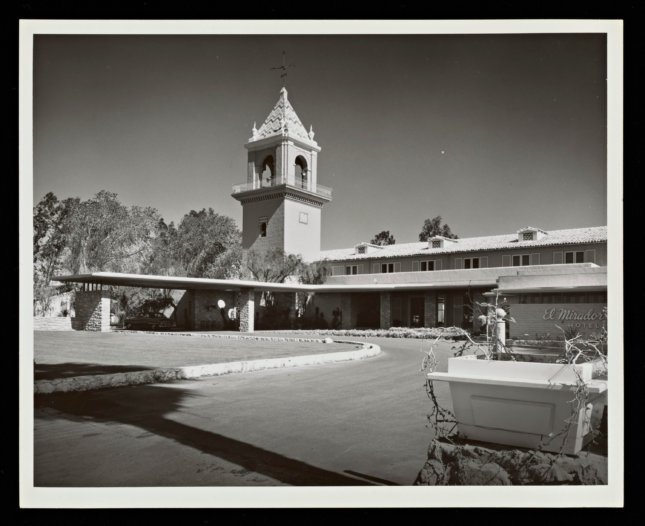 archival photo of Mirador Hotel by Paul R Williams, Palm Springs