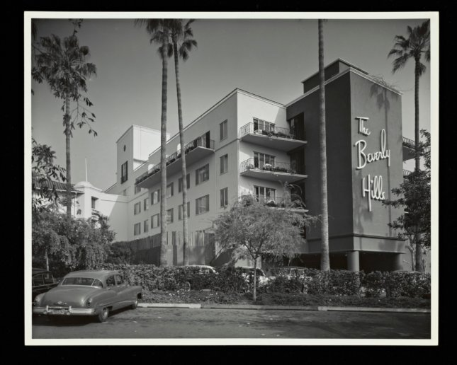 archival photo of the Beverly Hills Hotel