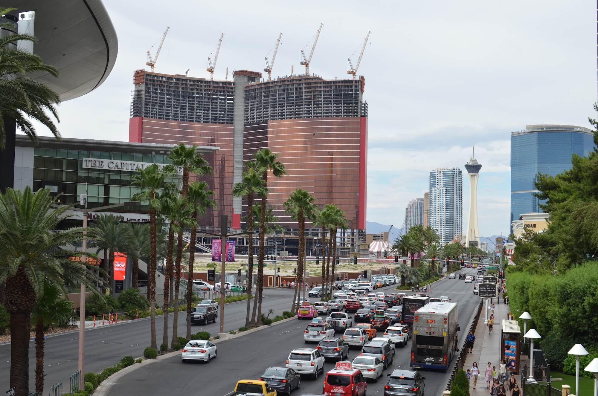 resorts world las vegas under construction, where nooses were found
