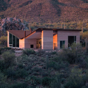 architecture rammed earth house