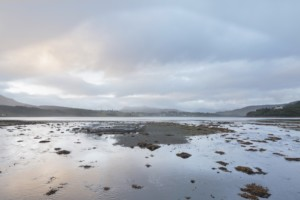 a tidal landscape in scotland