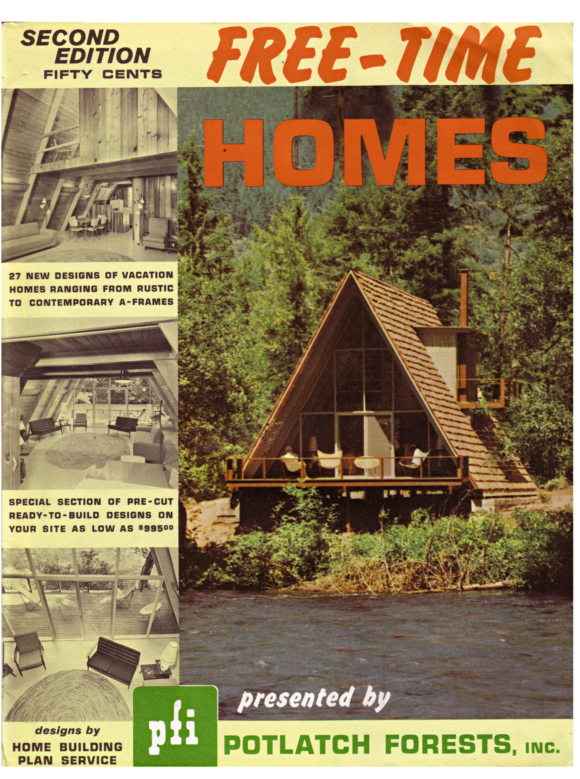 Long Out Of Print A Frame Returns To Satiate America S Lust For Triangular Homes