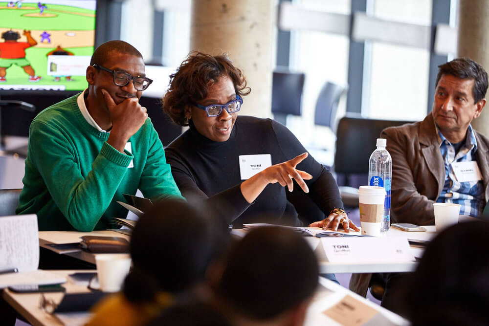 Photo of Just City director Toni L. Griffin at a Just City Lab event