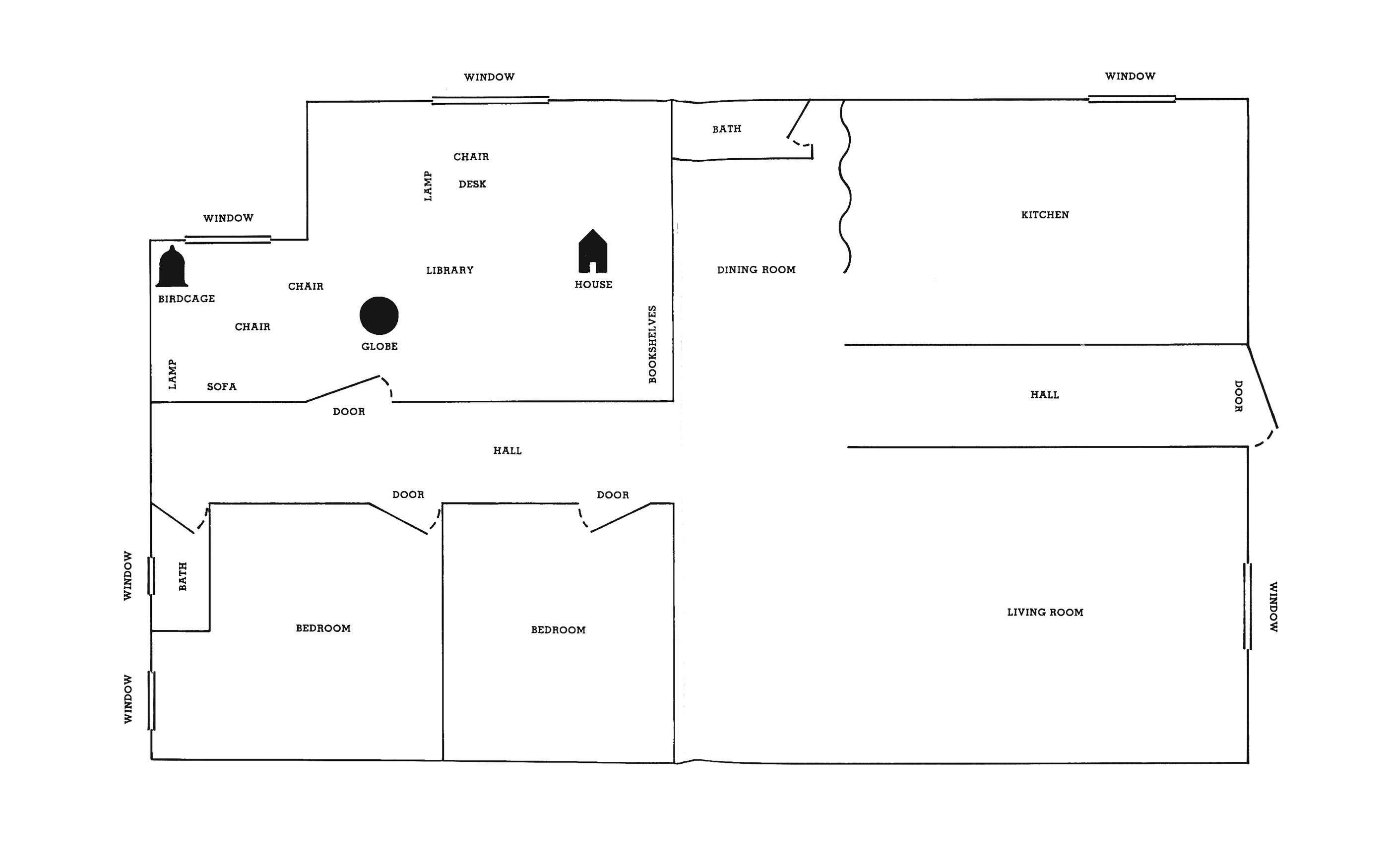 architecture floor plan drawing