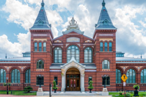 The Smithsonian Arts and Industries Building