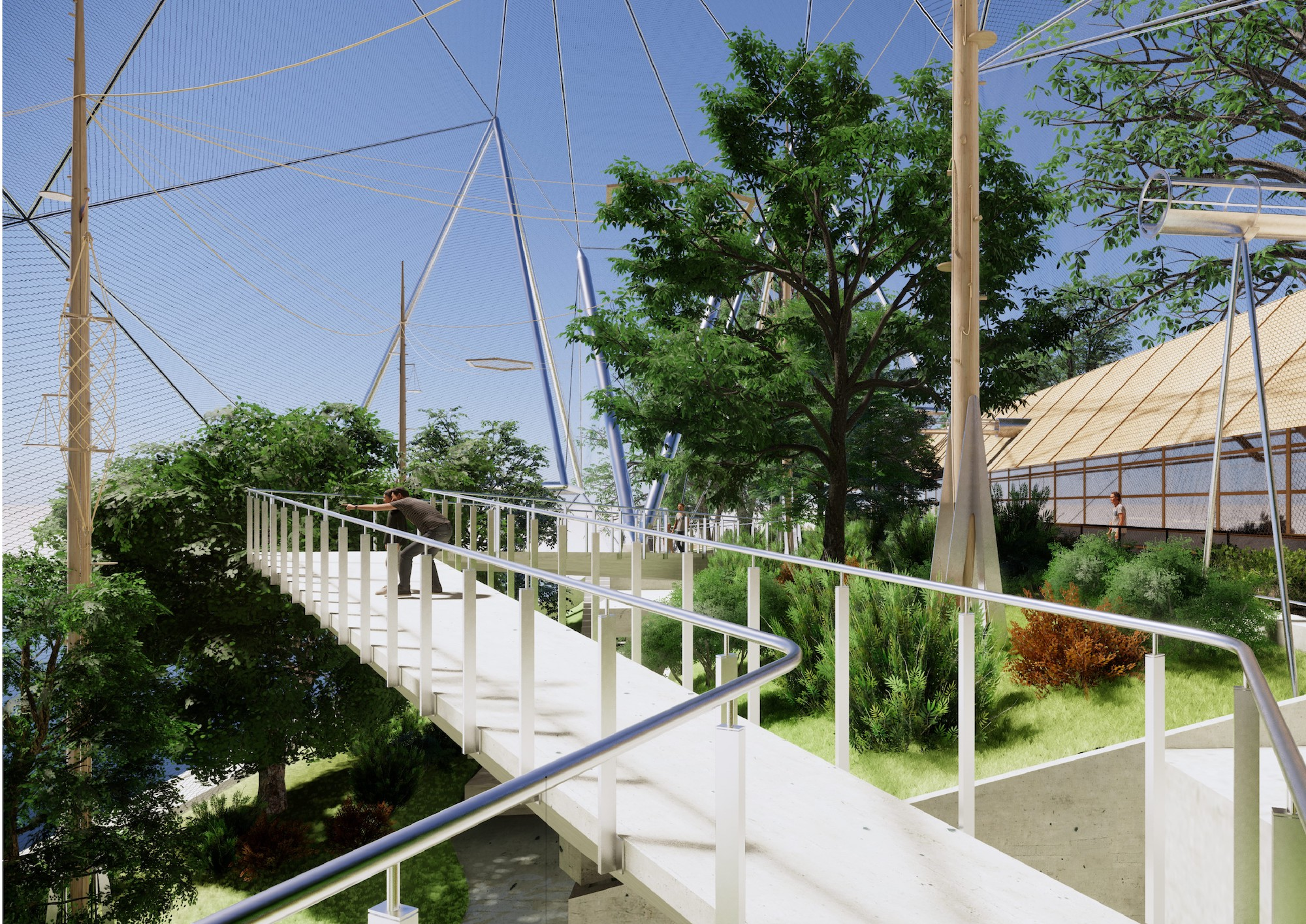 Foster Partners Revamp Of Cedric Price S Famed Snowdon Aviary Will Be Monkeys Only