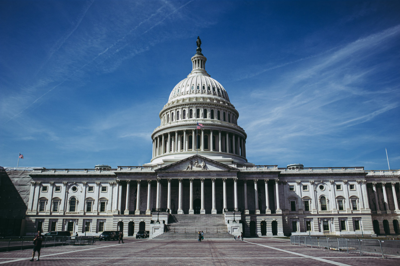 The US capitol building, where the Democracy in Design Act will need to pass