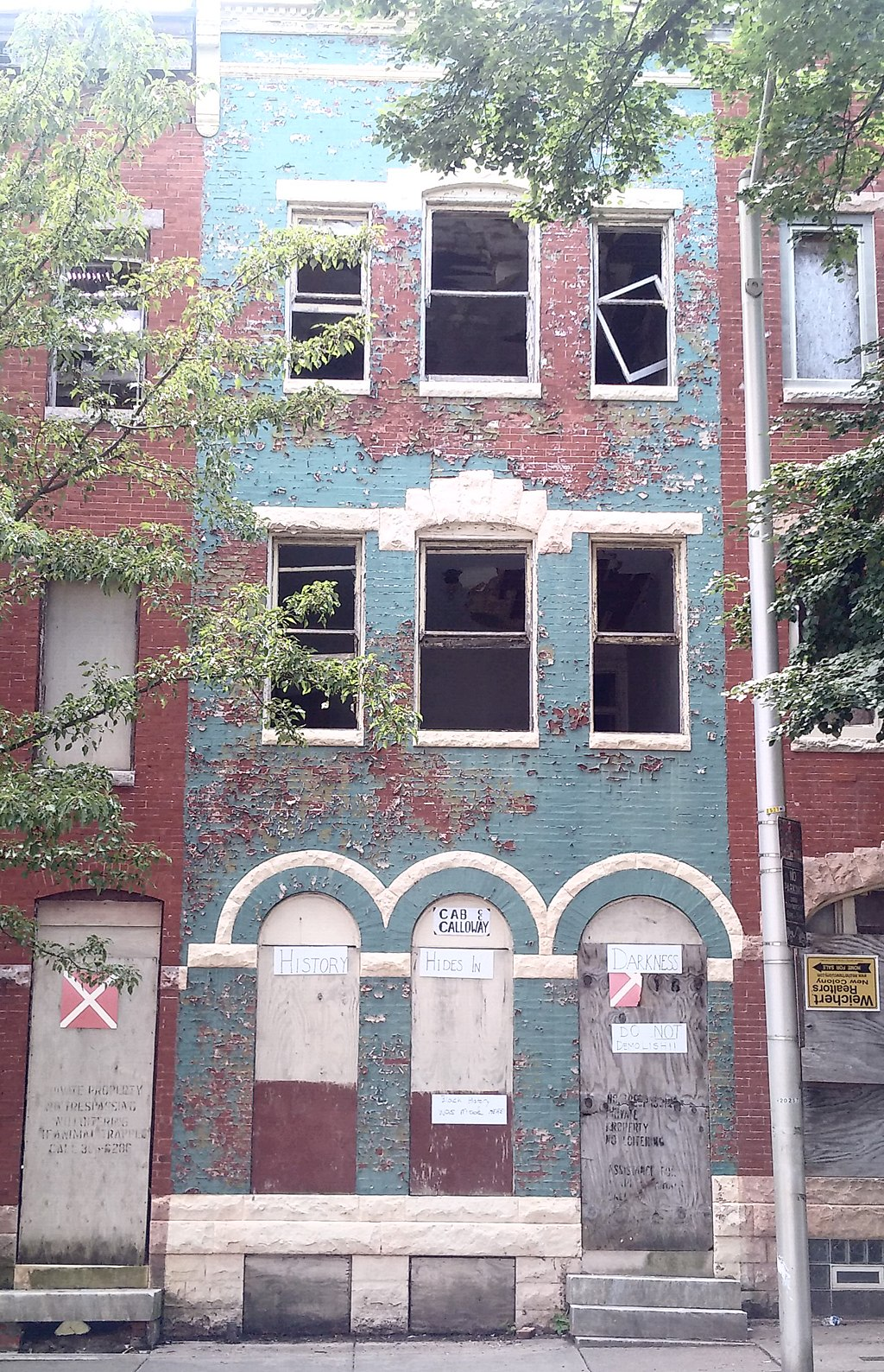 cab calloway house in baltimore