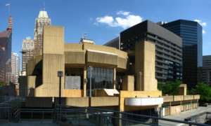 The Morris A. Mechanic Theatre, a brutalist building praised by John Waters