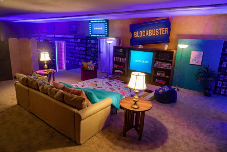airbnb in a blockbuster