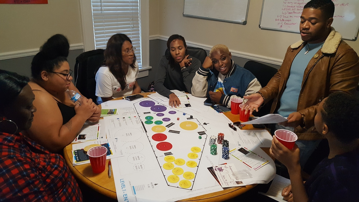 Atlanta resident participating in Center for Equity design activities